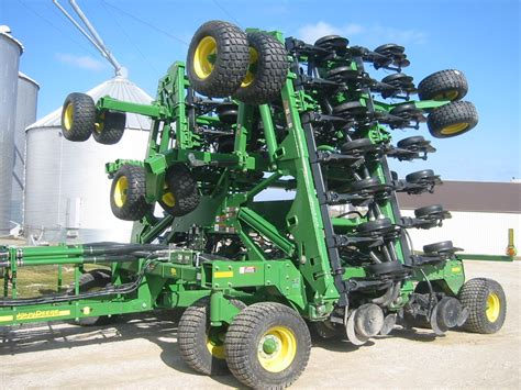 Drill Planter by New Soybean Planter Arrives Carnahan Sons Inc