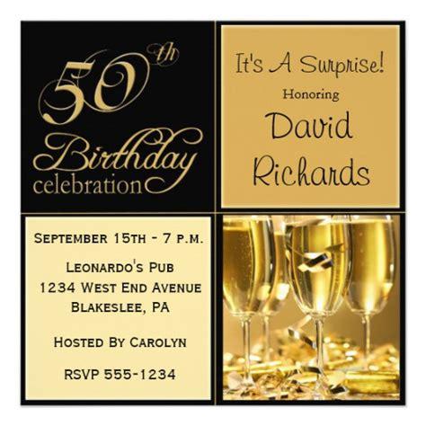 50th Birthday Invitations by 50th Birthday Invitations 5 25 Quot Square