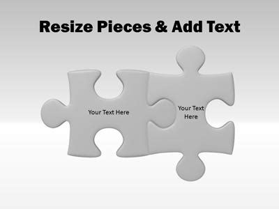 powerpoint puzzle pieces template slide puzzle clipart clipart suggest