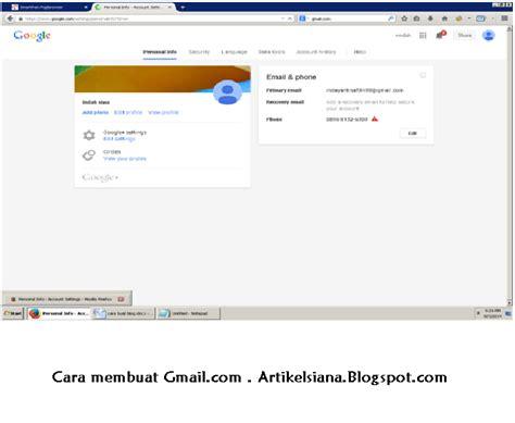 artikel membuat gmail cara membuat email gmail singkat dan jelas artikelsiana