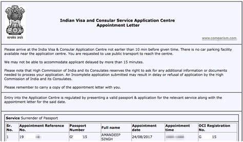 appointment letter passport how to indian passport in the uk step by step