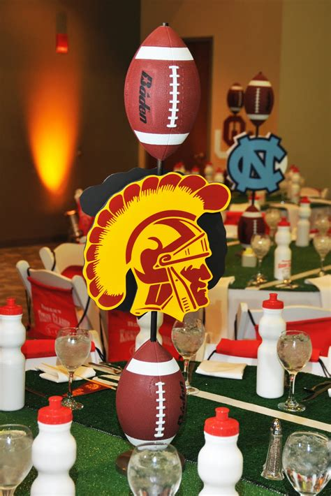 football theme bar mitzvah ideas jew it up