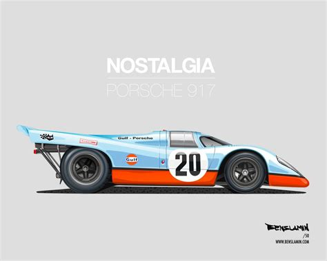 porsche 917 art porsche 917 art by benslamin classic cars pinterest
