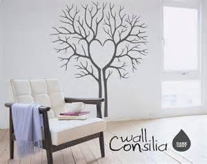 large wall decals for living room heart twin tree wall decal tree wall sticker heart tree