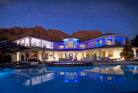 party house rentals las vegas vegas incredible luxury mansion with infinity pool