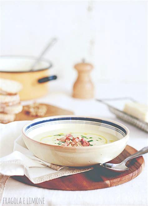 zuppa di sedano rapa vellutata con sedano rapa