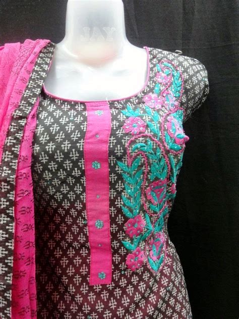 clothes design neck neck design shalwar kameez dresses fashion brow
