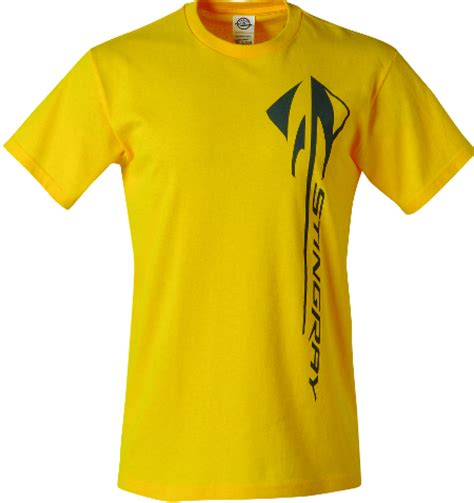 corvette apparel c7 c7 stingray corvette vertical yellow t shirt chevymall