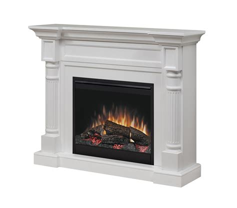 electric fireplace log set dimplex dfp26 1109w winston electric fireplace and mantel