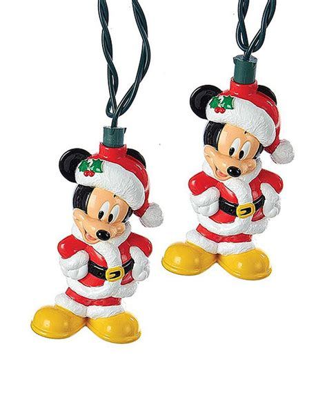 147 Best Images About Christmas Disney On Pinterest Mickey Mouse String Lights