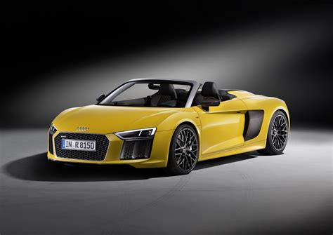 Audi R8 2017 by 2017 Audi R8 Spyder Opens Up In New York City