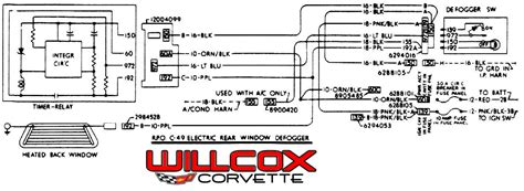 1979 corvette wiring diagram 1979 corvette rear window defroster diagram corvette