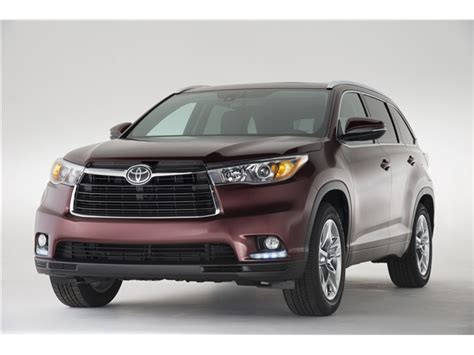 Toyota Highlander Reviews 2015 2015 Toyota Highlander Prices Reviews And Pictures U S