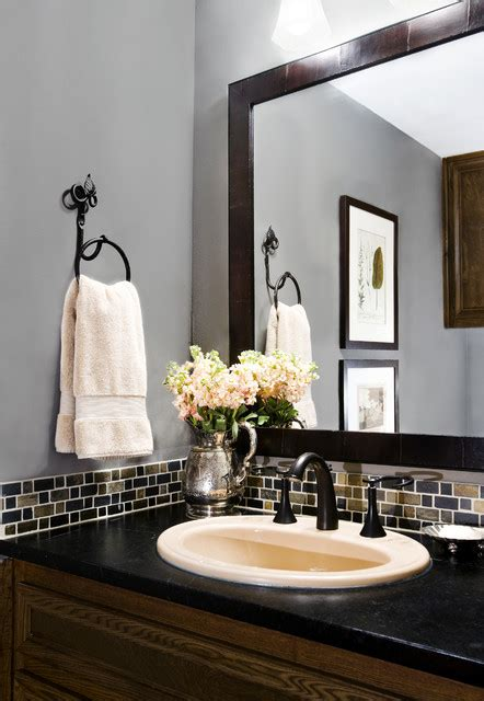 powder room backsplash ideas great ideas to decorate your powder room