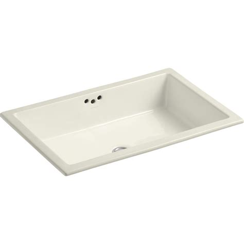 kholer bathroom sinks kohler k 2297 g 96 kathryn biscuit undermount single