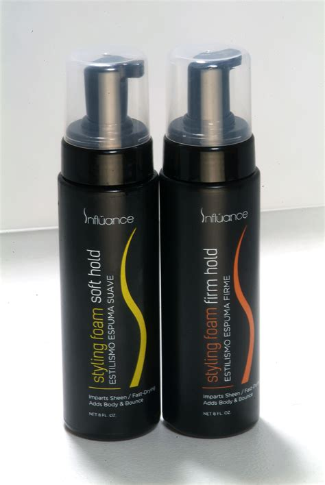 influence hair products reviews influance styling foam
