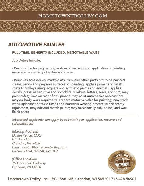 painter description