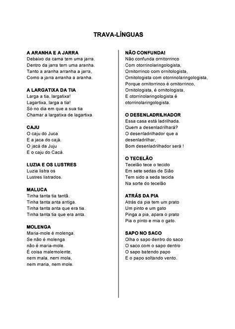 0254-folclore-trava-linguas-longas-p1 - Só Atividades
