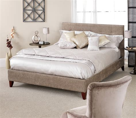 fabric bed frames genoa fudge fabric bed frame sensation sleep beds and