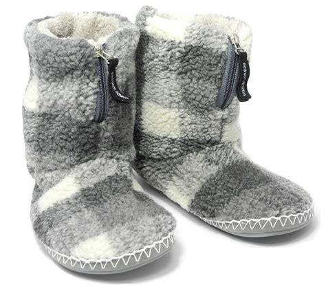 mens sherpa slippers mens bedroom athletics sherpa fleece warm fur zipped boots