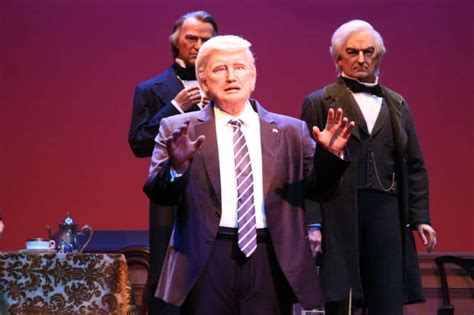 donald trump hall of presidents the hall of presidents r 233 ouvre ses portes 224 walt disney world