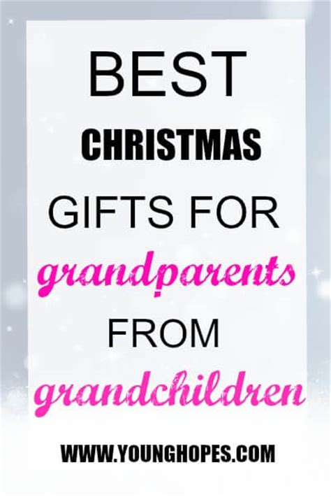 best christmas gifts for grand parents from grandchildren