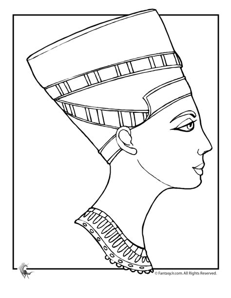 ancient egypt coloring pages cleopatra coloring page