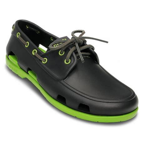 crocs boat shoes crocs beach line mens boat shoes all sizes in various