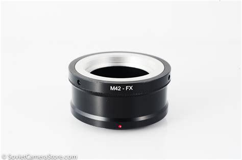 M42 Lens To Fuji X m42 to fujifilm x mount adapter sovietcamerastore
