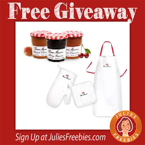Www Bonnemaman Us Sweepstakes - free bonne maman bbq giveaway julie s freebies