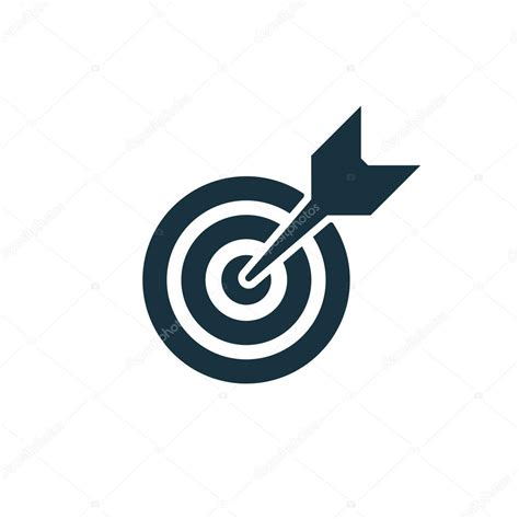 ziel icon symbol quot ziel quot stockvektor 169 rashad ashurov 68123999