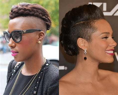 Braided Styles Up Do For Shaved Hair On The Sides | updo hairstyles for half shaved hair 2017 hairdrome com
