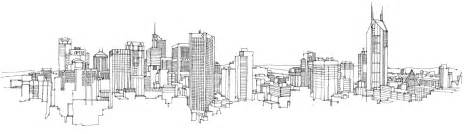 city illustration melbourne london and kuala lumpur