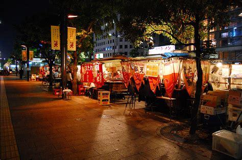 fukuoka travel food stalls yatai yatai fukuoka s fantastic street food