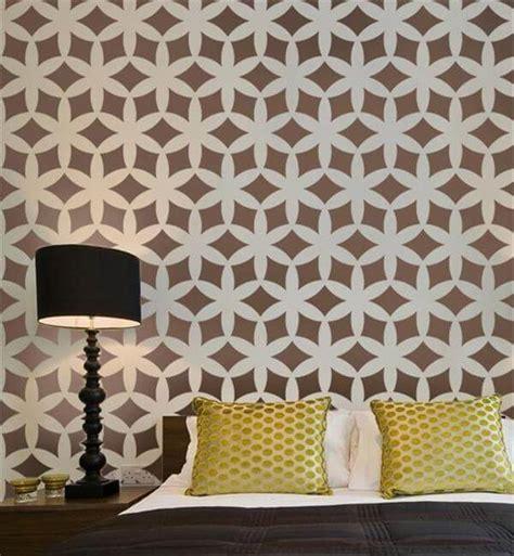 diy wall painting stencils design diy  crafts