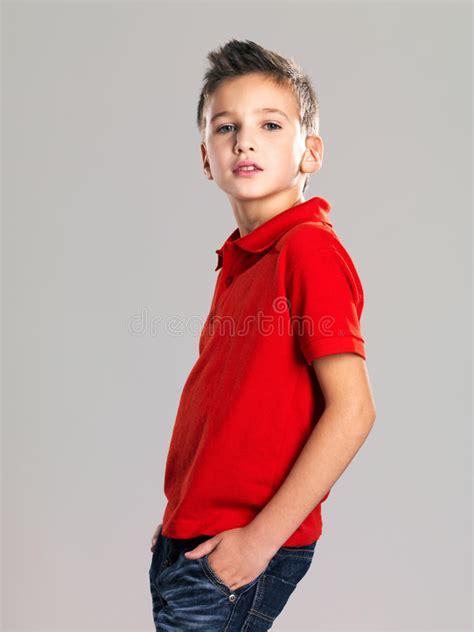 boy model gallery pretty boy posing at studio as a fashion model stock