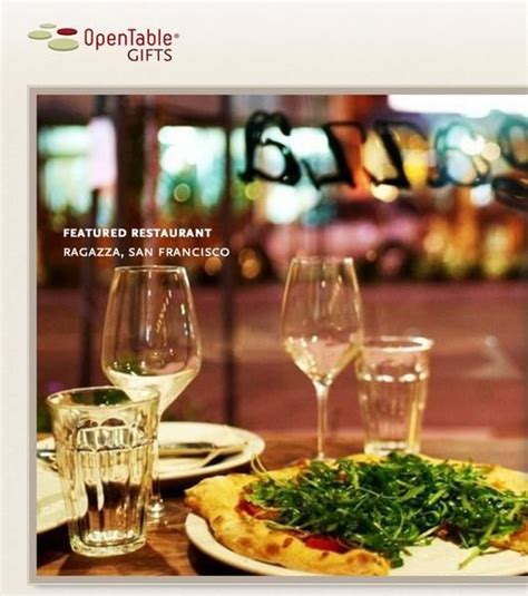 Opentable Gift Card - 200 in opentable gift card winners million mile secrets