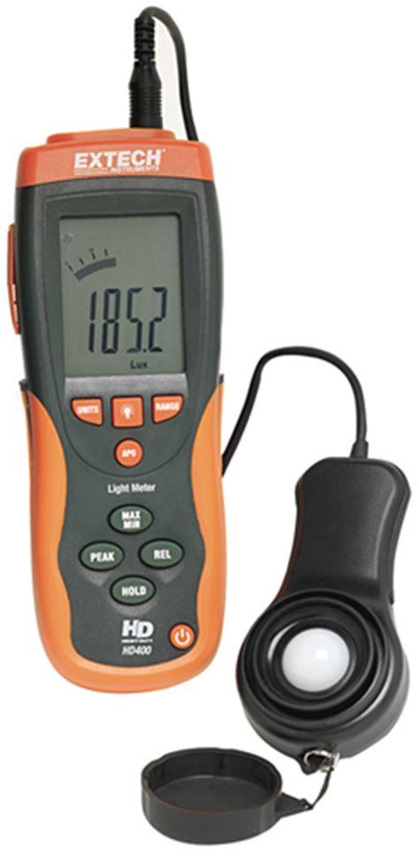 Extech Hd400 Light Meter hd400 extech instruments datasheet