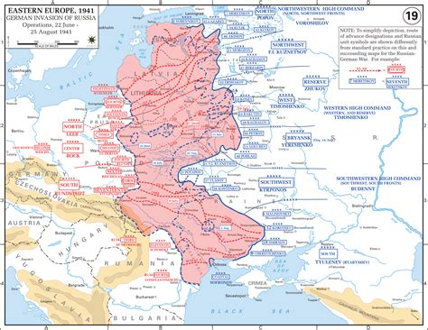 russia map 2 eastern front maps of world war ii inflab medium