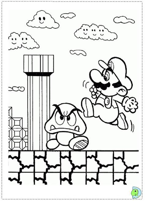 mario bros coloring pages 4u mario tube coloring page coloring pages