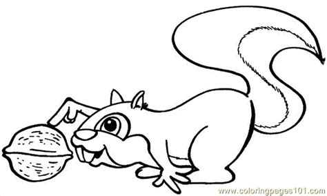 Free The Nut Picture Coloring Pages Nuts Coloring Pages