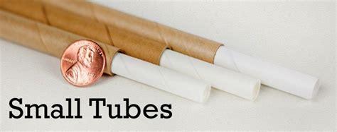small tube small paper tubes small diameters thin walls