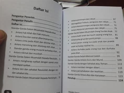 Standar Ganda Membuka Kacamata Keadilan Muslim Rumah Ilmu buku standar ganda membuka kacamata keadilan muslim toko muslim title