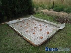 dalle de b 233 ton pour abri de jardin o 249 couper le