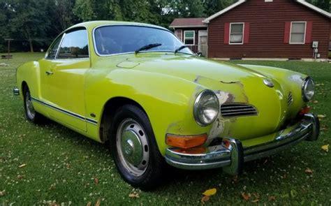 karmann ghia green 1974 volkswagen karmann ghia ravenna green