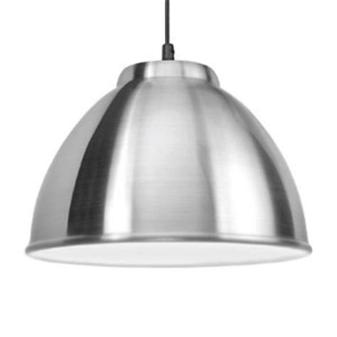 modern aluminium silver chrome kitchen ceiling pendant