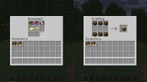 the gallery for gt how to craft a bookshelf in minecraft