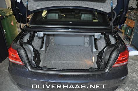 Bmw 1er Maße Kofferraum by Bmw 3er Cabrio Kofferraum Mae