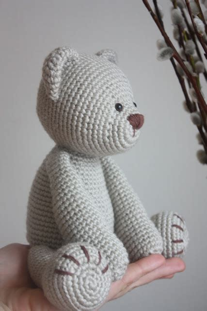Handmade Teddy Patterns - amigurumi creations by happyamigurumi new teddy pdf