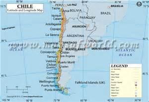 chile latitude and longitude map maps maps